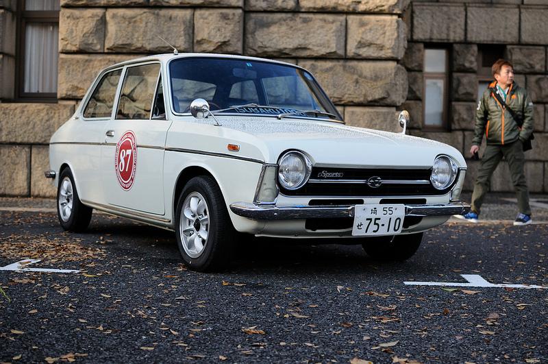 Subaru 1000, coupe, przód, japoński klasyk, motoryzacja, stare modele, 日本車, ヒストリックカーは