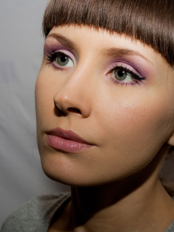 Shimmery Purple Valentine S Day Makeup Tutorial Handmade Reviews