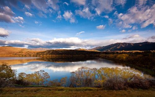 Lago muy lindo - Lake hayes (1920x1200px)