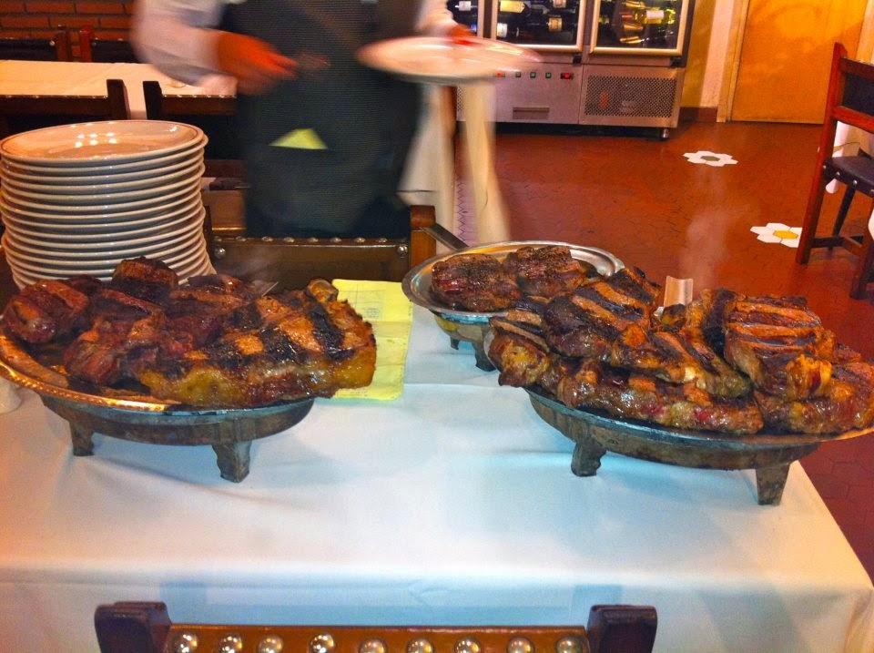 Steak dinner at La Estancia Buenos Aires