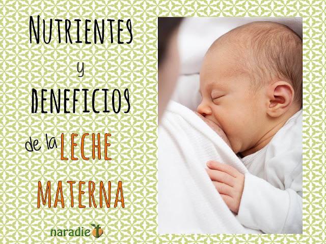 nutrientes y beneficios de la leche materna