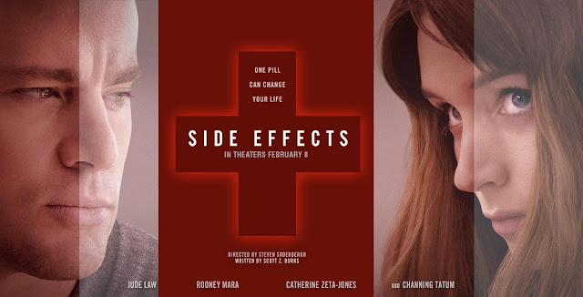 SIDE EFFECTS movie banner (Copyright by respective production studio and/or distributor. Intended for editorial use only.)