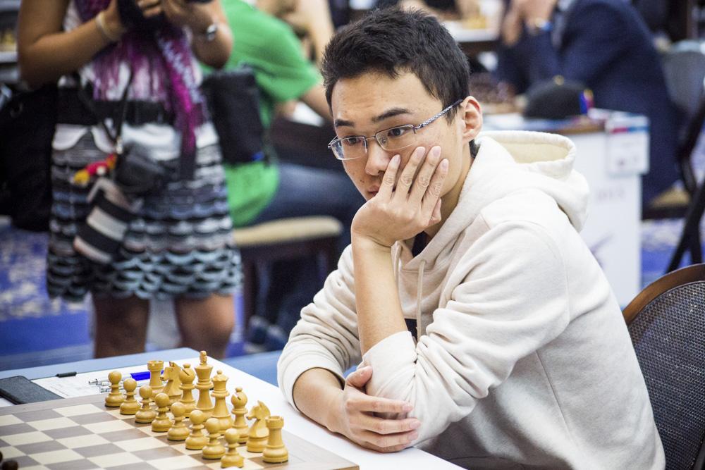Le Chinois Yu Yangyi bat Wesley So et s'offre les départages face à Magnus Carlsen - Photo © Katerina Savina