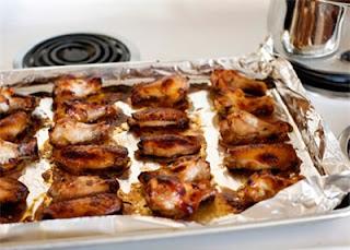 Cánh gà nướng trộn sốt ngon nhớ mãi