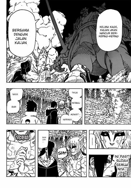 Naruto epizód 589: Edo Tensei jutsu megszűnt