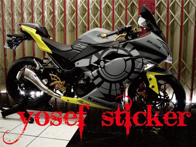 Cutting Sticker Ninja 250