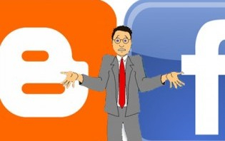 blogging vs facebook