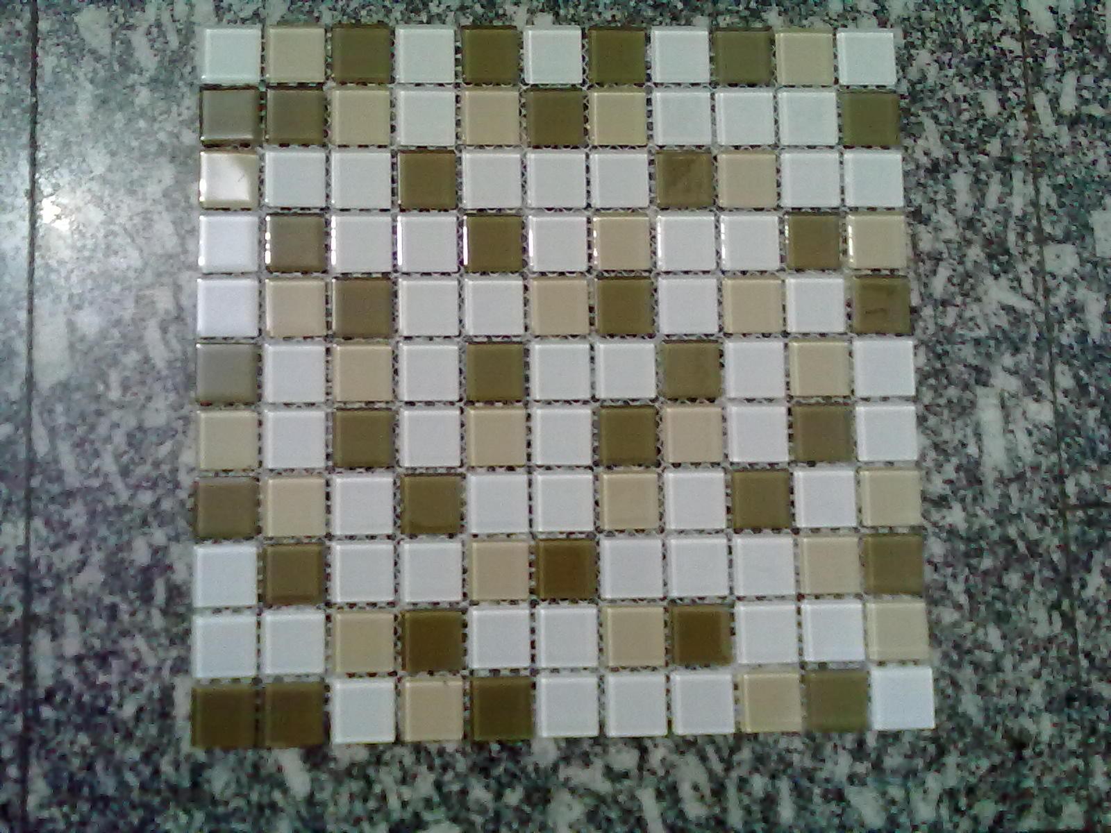 AMBIENTE IDEAL: Nossas pastilhas de vidro #595136 1600x1200 Banheiro Com Pastilha Madreperola