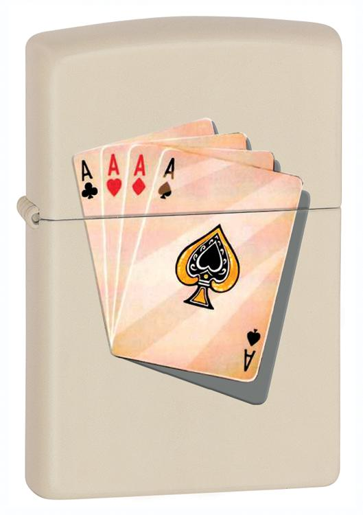 Isqueiro zippo poker