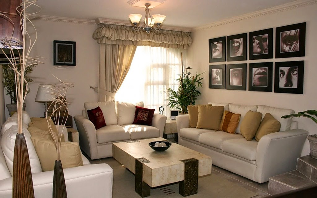 living room interior design painting