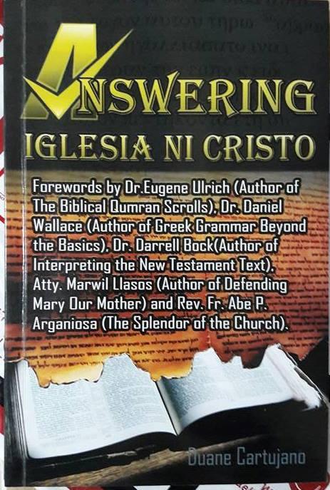 Sagot sa 'Iglesia Ni Cristo'-1914