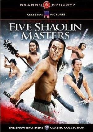 Thiếu Lâm Ngũ Hiệp - Five Shaolin Masters (1974) Vietsub