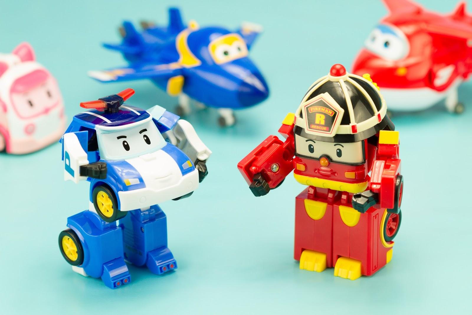 Super h ros et compagnie robocar poli poli et roy le pompier - Robocar poli pompier ...