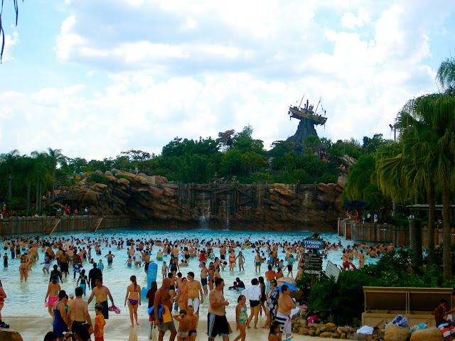 Typhoon Lagoon water park - Disney World, Florida