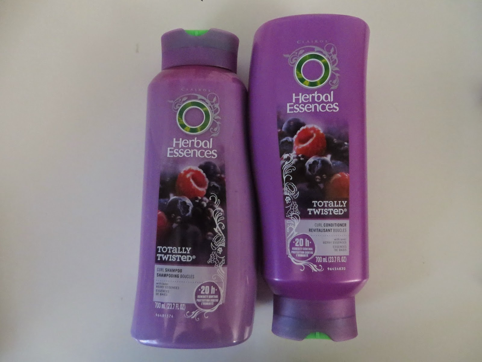 Herbal Essences Totally Twisted Shampoo And Conditioner