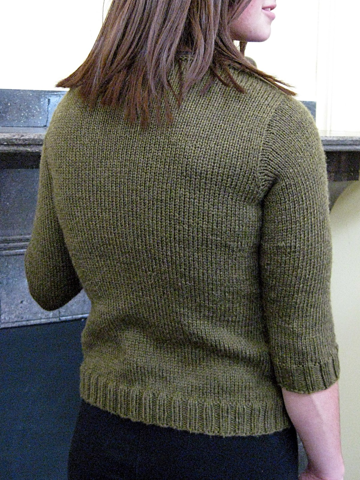 KNitDesigns: Milam Gap Boatneck Sweater