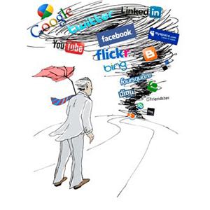 ilustracion huracan redes sociales