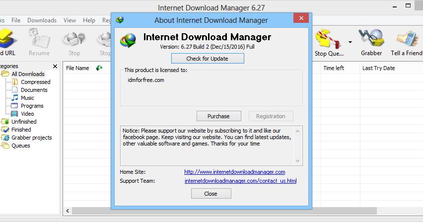 Internet Download Manager 623 Crack Full Free Download