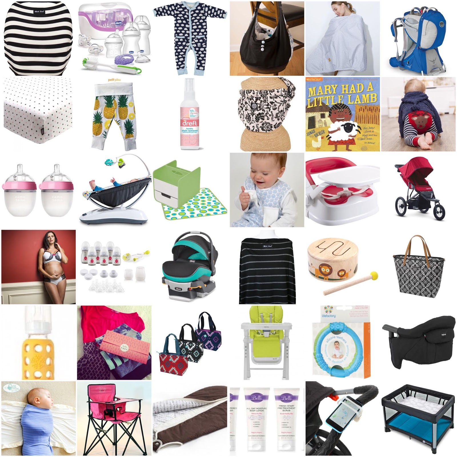 Holiday Gift Guide for New Moms 2015
