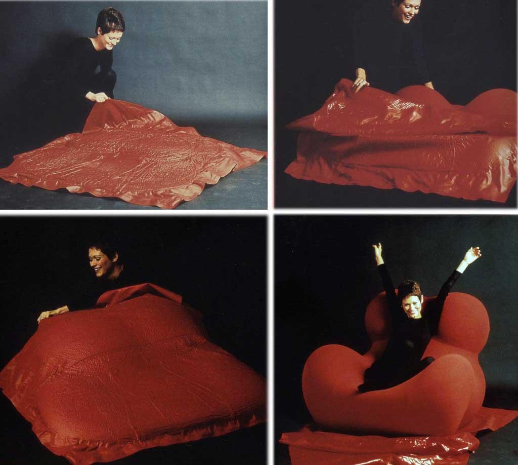 Design antropomorfo meraviglie del corpo umano for Poltrona up gaetano pesce
