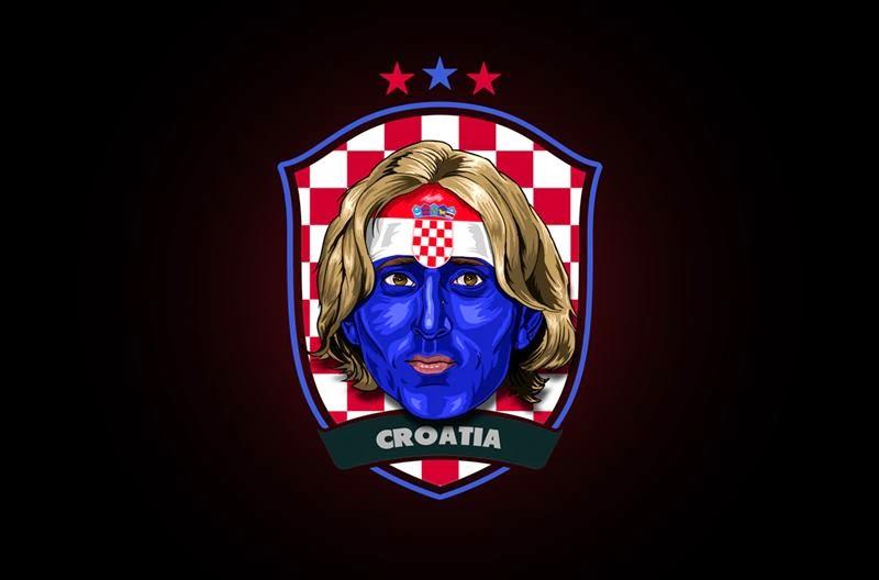 Stars of Brazil 2014 by Rudi Gundersen — Modric