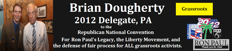Brian Dougherty-Ron Paul Delegate