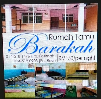 Rumah Tamu Barakah di Kuantan Pahang