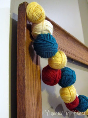 Yarn Ball Garland