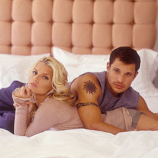 Jessica w/ ex-husband Nick Lachey