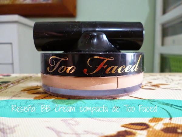 Reseña: BB Creme Compacta de Too Faced (air buffed bb crème)