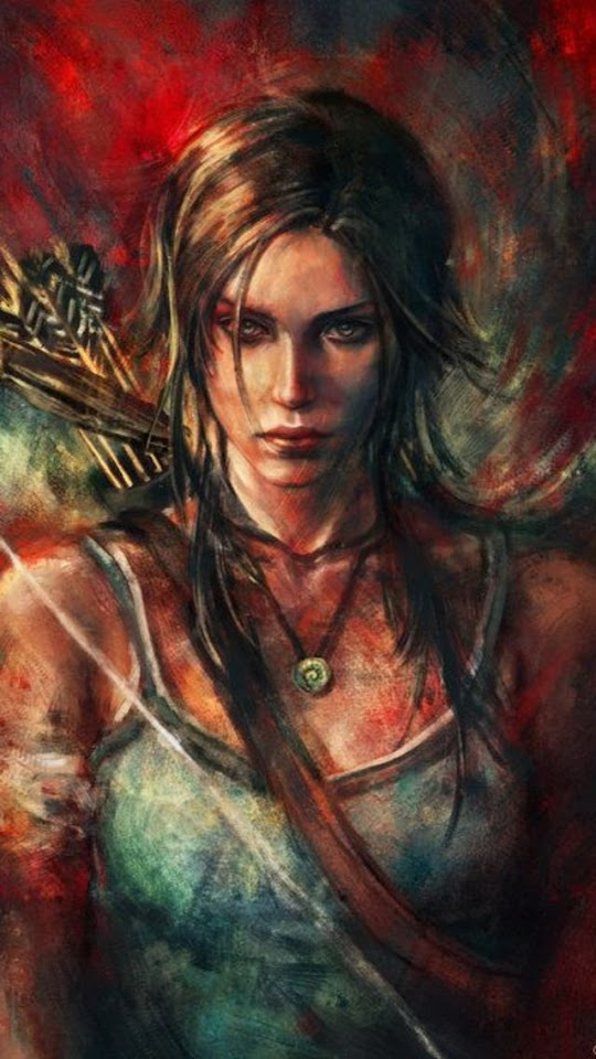 Lara Croft Tomb Raider Fan Art   Galaxy Note HD Wallpaper