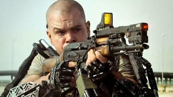 Elysium, starring Matt Damon