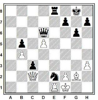 Problema ejercicio de ajedrez número 673: Weltmander - Polugaievsky (Sochi, 1958)