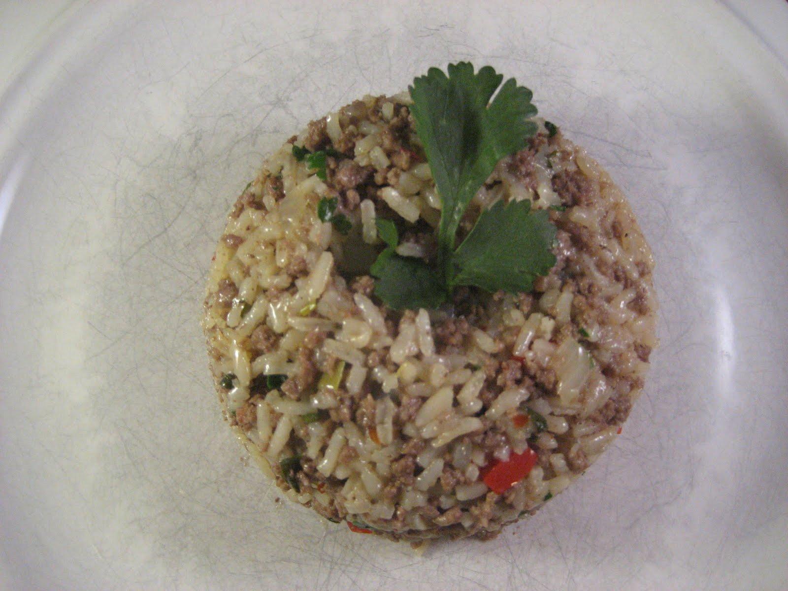 Chez Mona: Spicy Thai Beef and Jasmine Rice