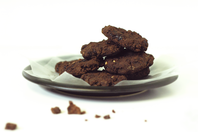 Our Earth Land: Cacao Fudge Zucchini Cookies