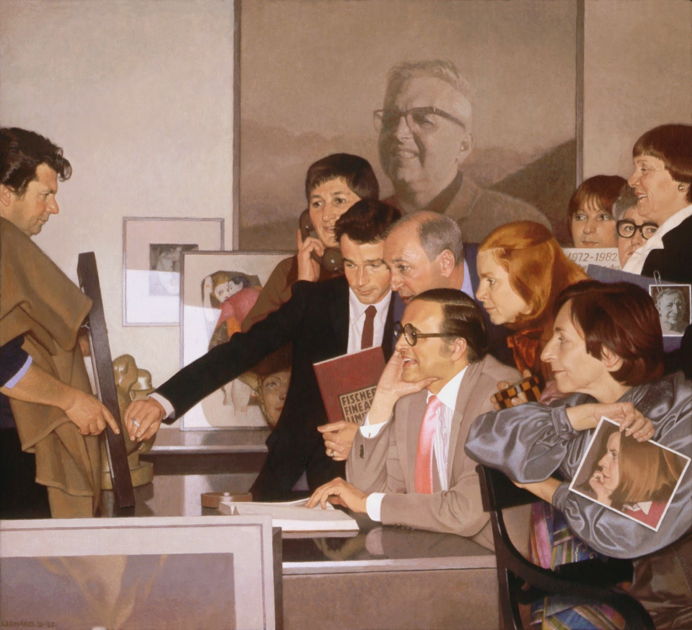 nuncalosabre.Pinturas. Paintings - Michael Leonard