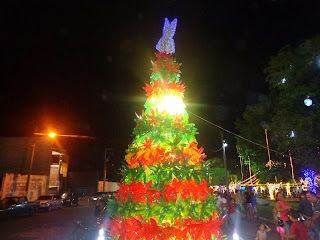 Decoração natalina da Praça dos Ourives.