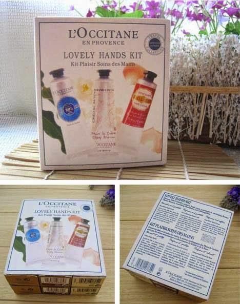 L'Occitane Lovely Hands Kit - 6 Piece Set