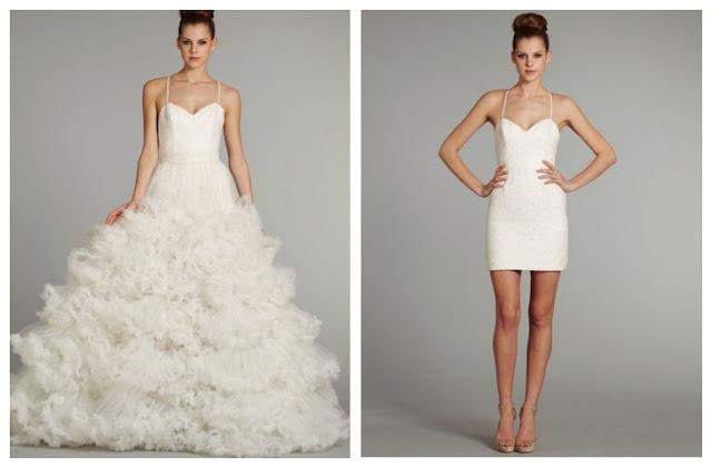 RainingBlossoms: New Arrivals - 2 in 1 Wedding Dresses