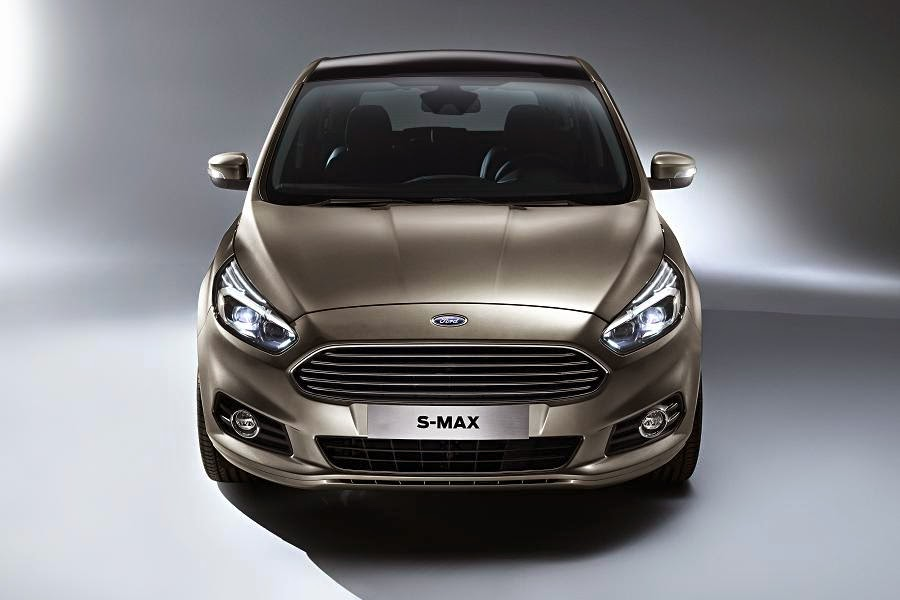 Ford S-Max (2015) Front