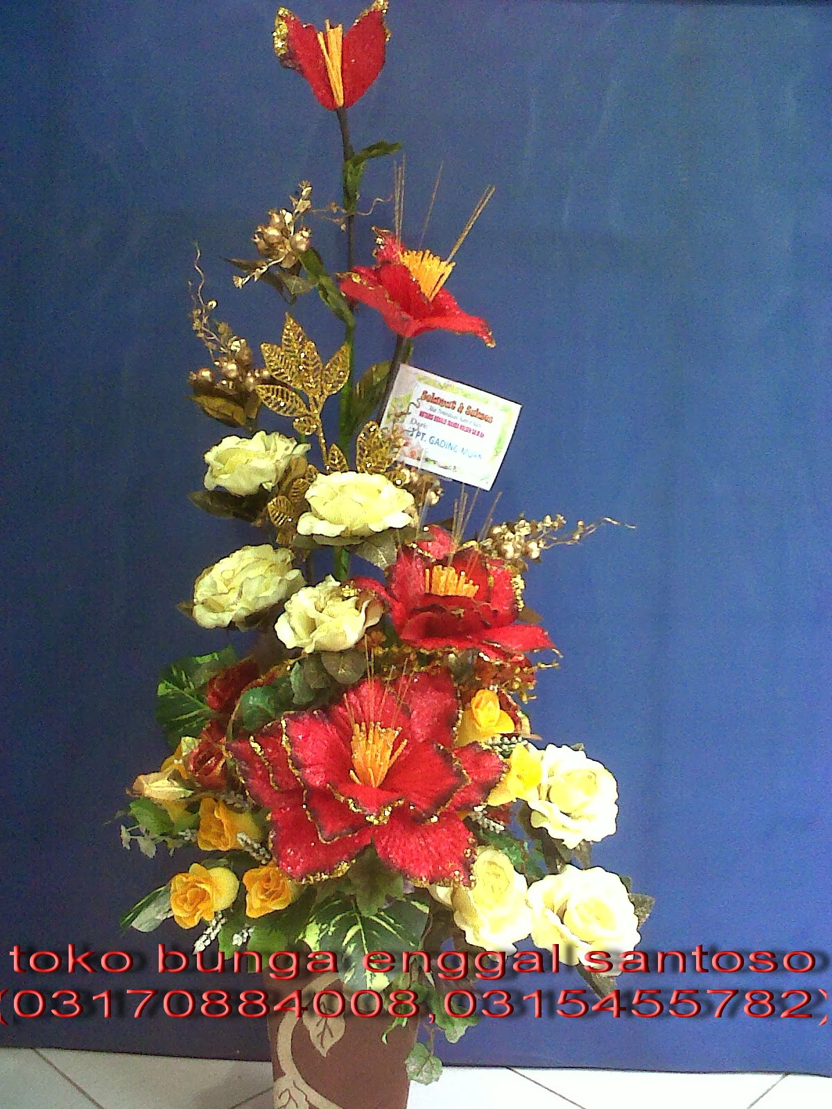 bouquet bunga artificial