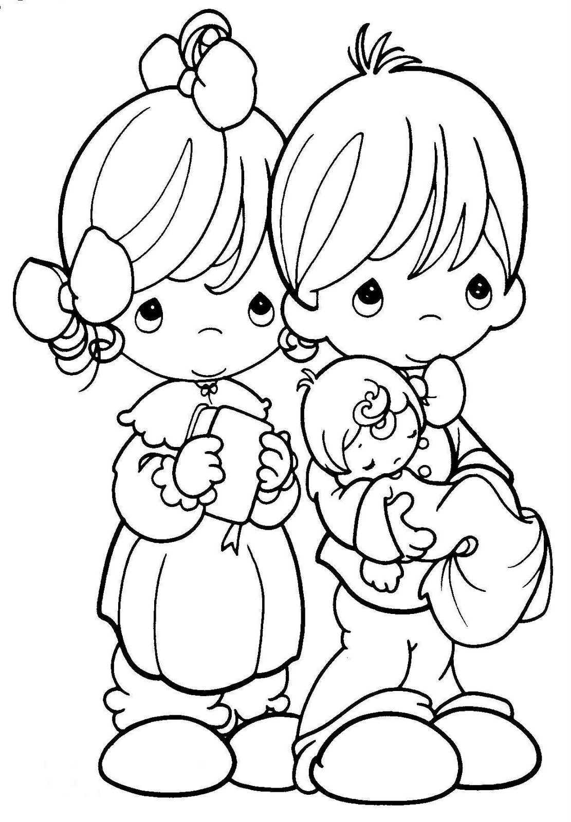 baptism coloring pages for children - photo#23