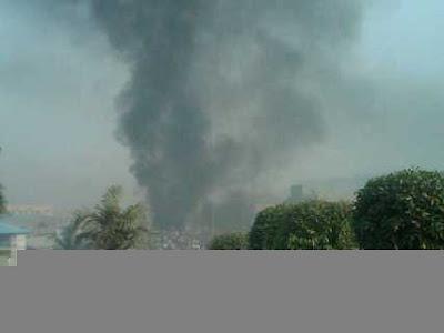 BREAKING NEWS- Bomb Blast At St Theresa's Catholic Abuja. 3