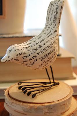 Paper Mache Bird