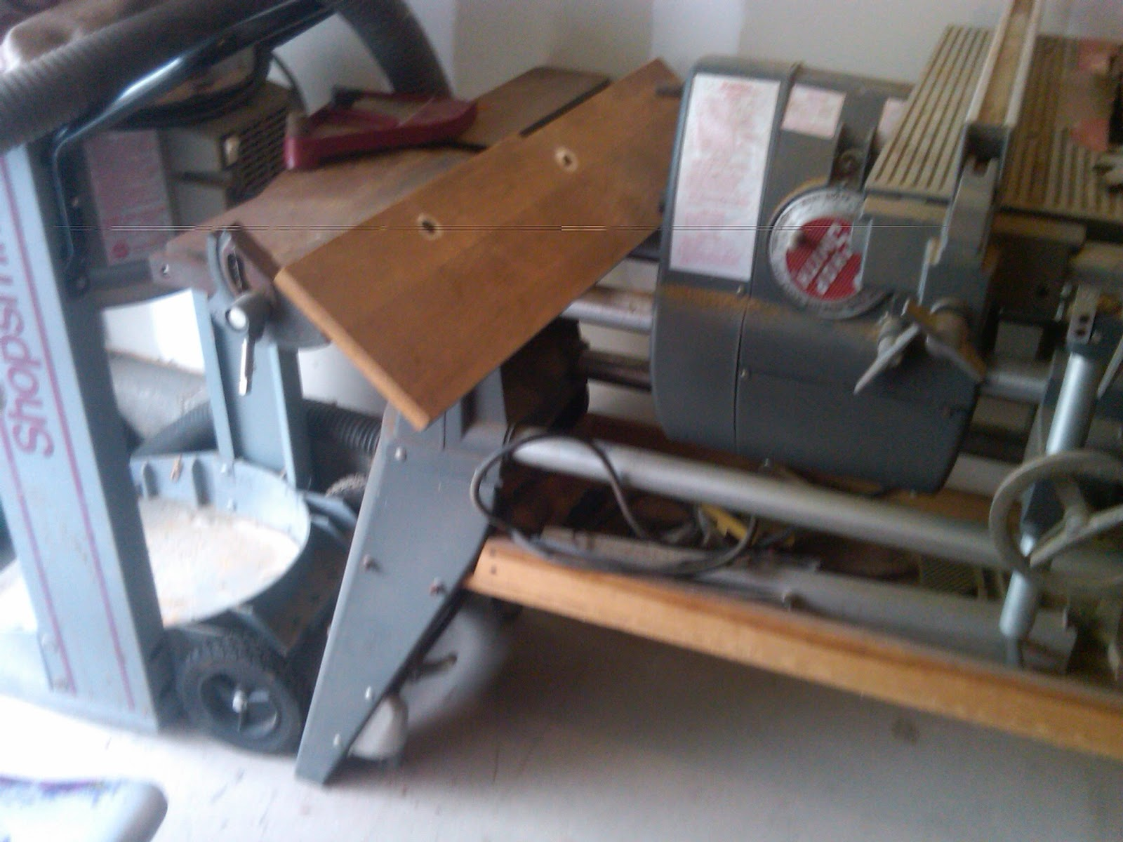 When Heaven Rains Tools The Shopsmith Mark V Mom And Her Drill Wiring Diagram I Ran Out Got This After Found Was Coming