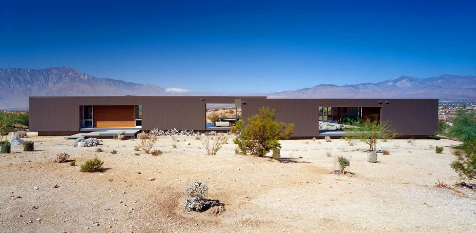 Quai est architecture la maison dans le d sert by marmol radziner - The cave the modern home in the mexican desert ...