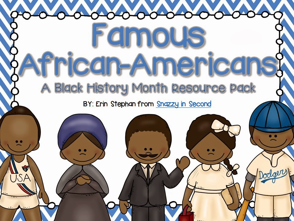 http://www.teacherspayteachers.com/Product/Famous-African-Americans-Black-History-Month-Pack-1114060