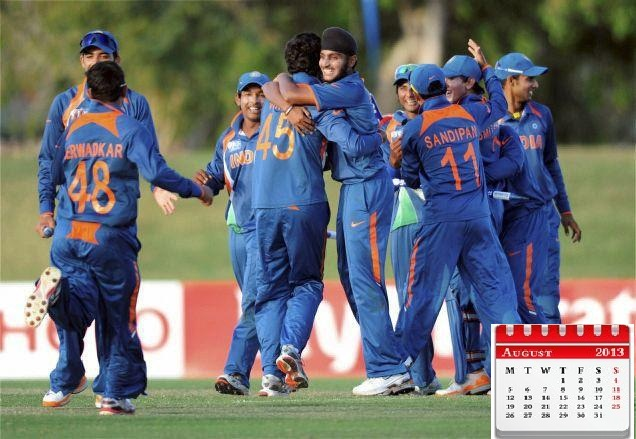 indian cricket team calendar 2013 new year calendar for