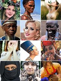 Фото Укринформ: женщины мира