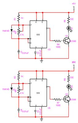 Automatic Room light Control Transmission Circuit
